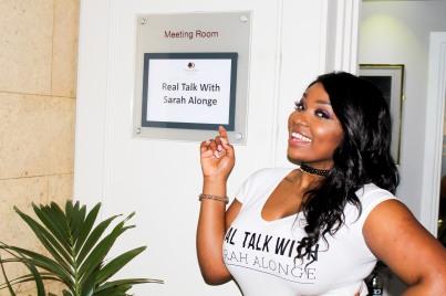 Real Talk With Sarah Alonge
